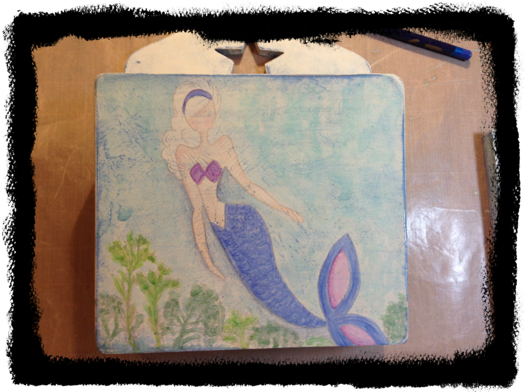 mermaid letter box 3