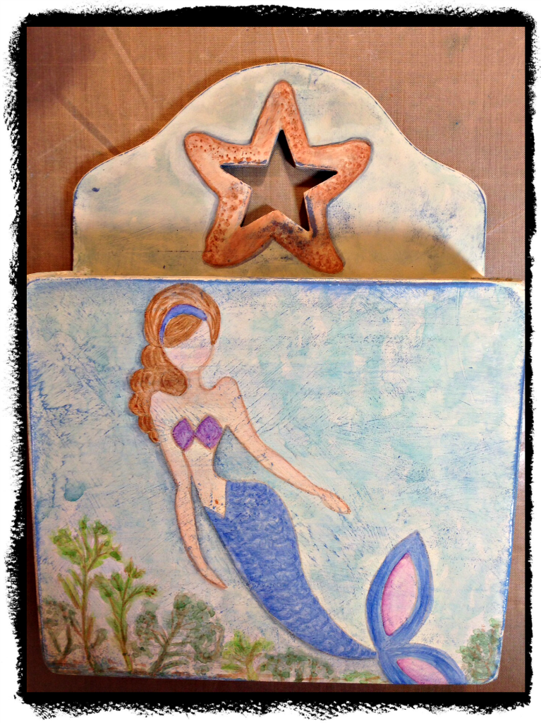 mermaid letter box 4